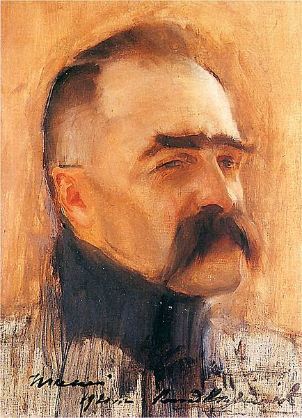 Krzyzanowski Konrad - Portret Jozefa Pilsudskiego,1920